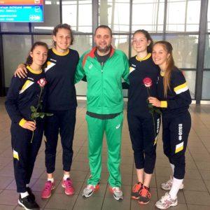 2019-09-05 Волейболистки от школата на Марица посрещнаха Лъвиците