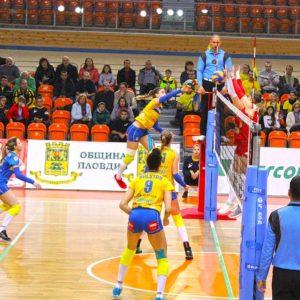 2018-11-25 НВЛ: Марица – ЦСКА