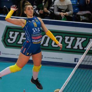 2019-12-19: Шампионска лига: Уралочка-НТМК – Марица