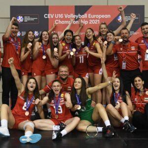 2021-05-09: България U16 се класира за Евроволей